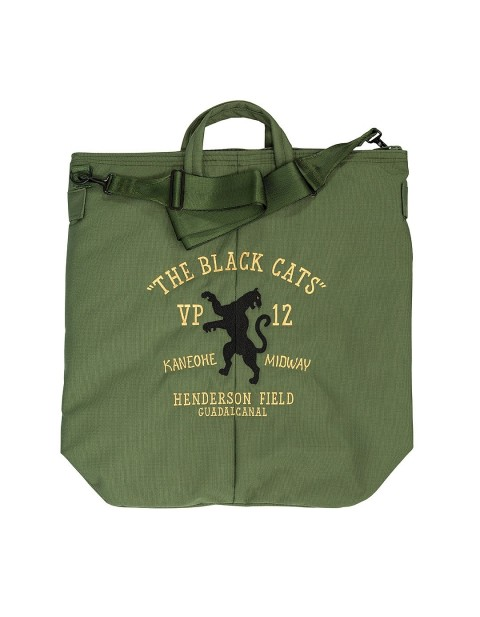 Black Cats Helmet Bag