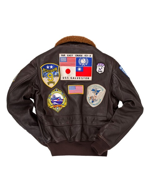 "Куртка Пилот ""Movie Heroes""© Top Gun Navy G-1 Jacket"