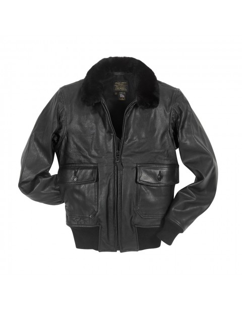 Куртка Пилот Black Leather G-1 Military Spec Jacket