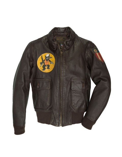Куртка Пилот Black Eagle USN G-1 Flight Jacket