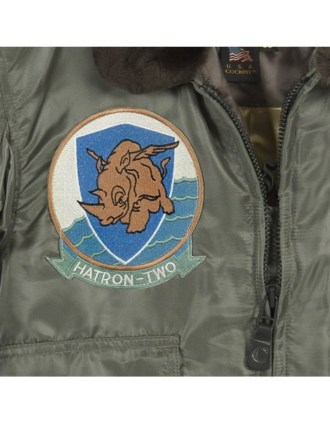 Куртка Пилот USS Forrestal Carrier Pilot's Flight JacketG-1 US Fighter Weapons Jacket with Patches