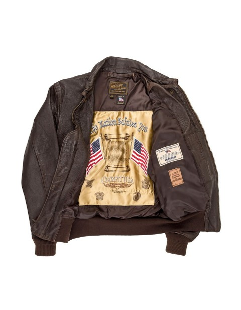 Куртка Пилот USS Forrestal Carrier Pilot's Flight Jacket