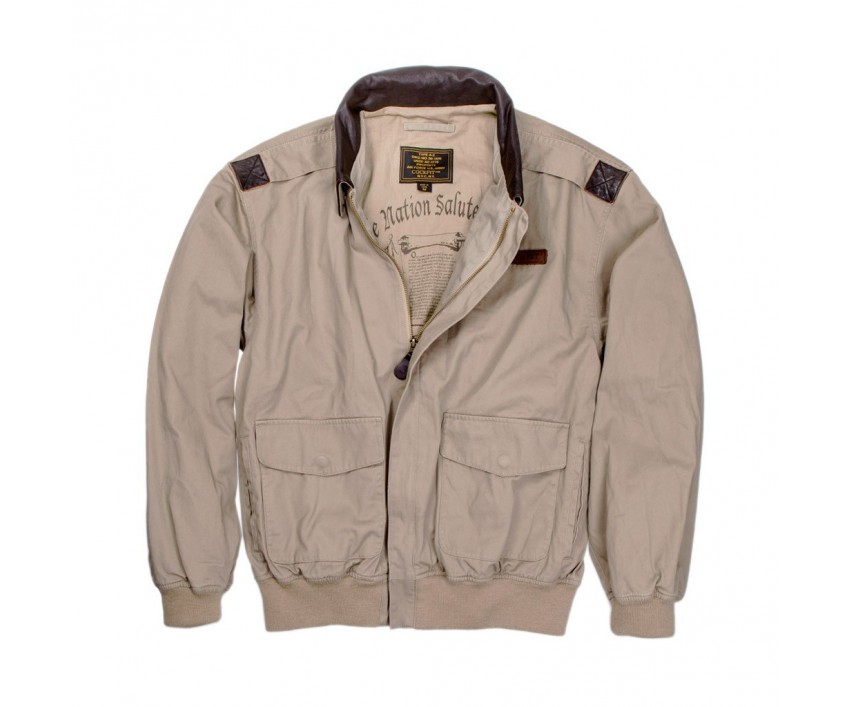 "Куртка Пилот ""100 Mission"" Cotton A-2 Jacket"