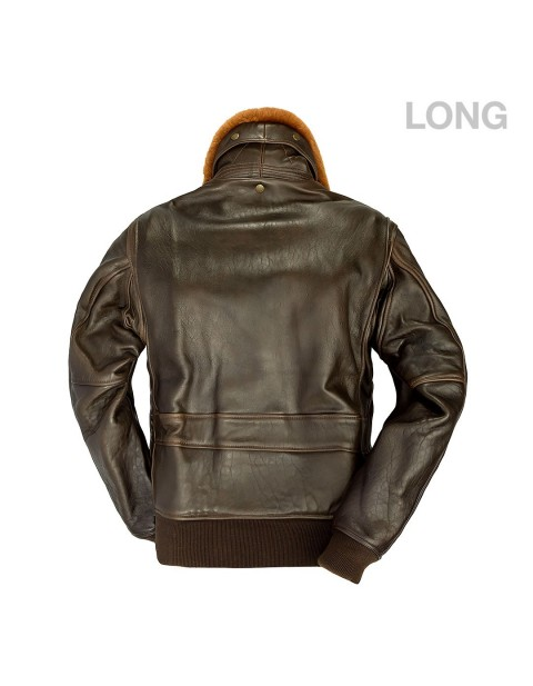 КУРТКА ПИЛОТ U.S. Navy Lambskin G-1 Flight Jacket (LONG)