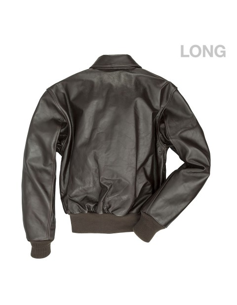 КУРТКА ПИЛОТ WWII Government Issue A-2 Jacket (Long)