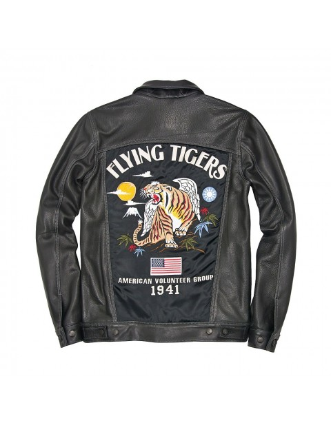 Куртка Пилот Flying Tigers Trucker Souvenir Jacket