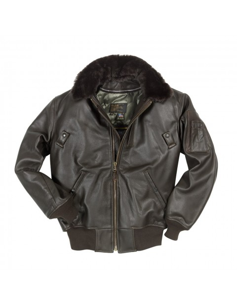 Куртка Пилот B-15 Leather Flight Jacket