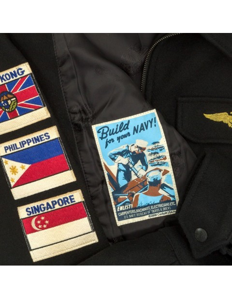 Куртка Пилот U.S.S. Coral Sea Tribute Deck Jacket