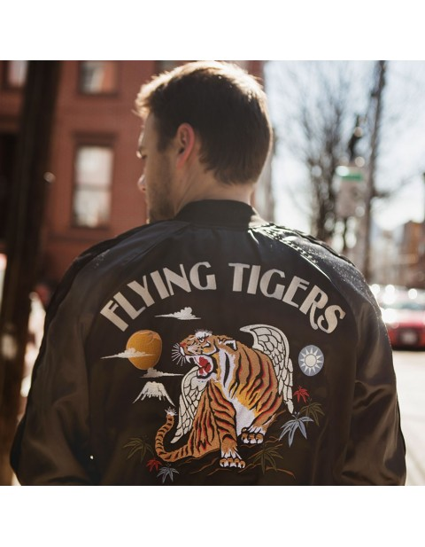 Куртка Пилот AVG Flying Tigers Souvenir Jacket