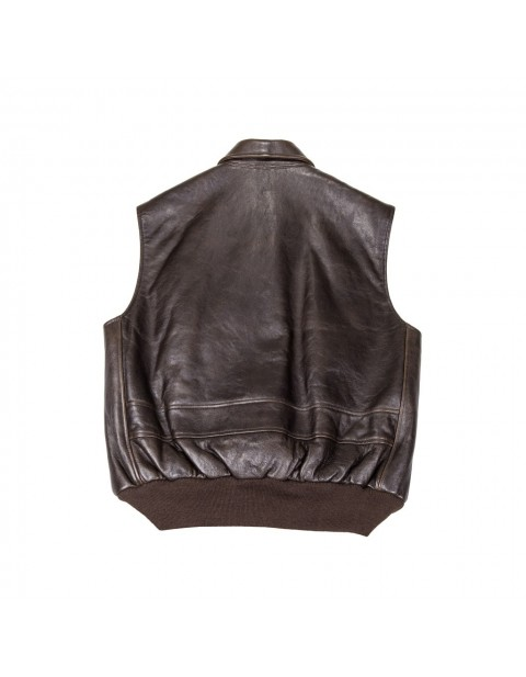 КУРТКА ПИЛОТ The Stearman Leather Vest (Imported)