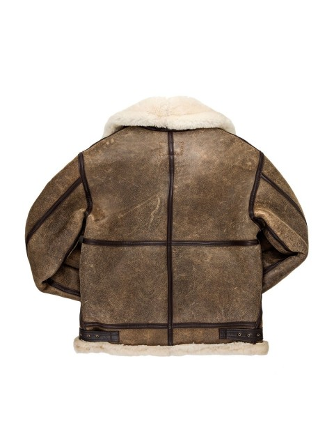 Куртка Пилот B-3 Hooded Sheepskin Bomber Jacket
