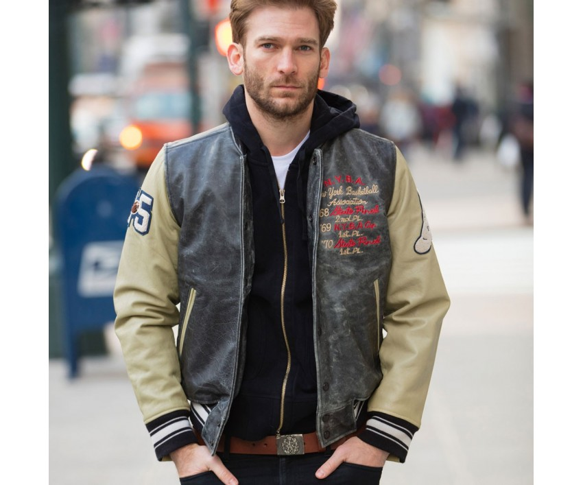 Куртка Пилот NY Basketball Association Varsity Jacket