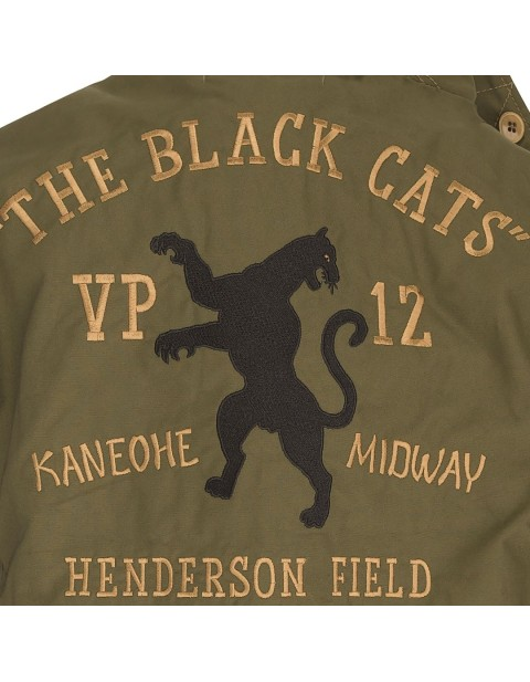 Куртка Пилот VP12 Black Cats N4 Aircrew Deck Jacket