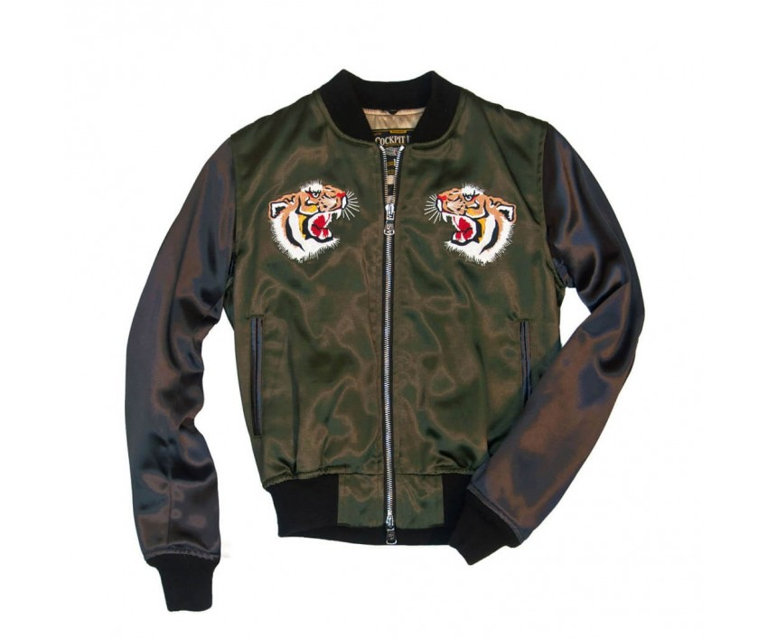 Куртка Пилот 40th Anniversary Flying Tigers Tour Jacket