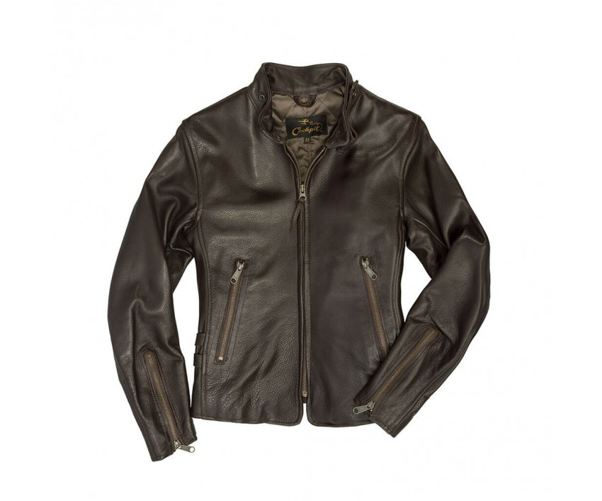 Куртка Пилот Motorcycle Cafe Racer Jacket