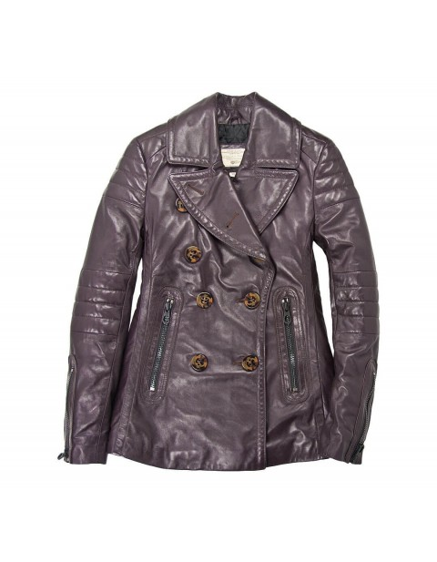 Куртка Пилот Carrier Leather Peacoat
