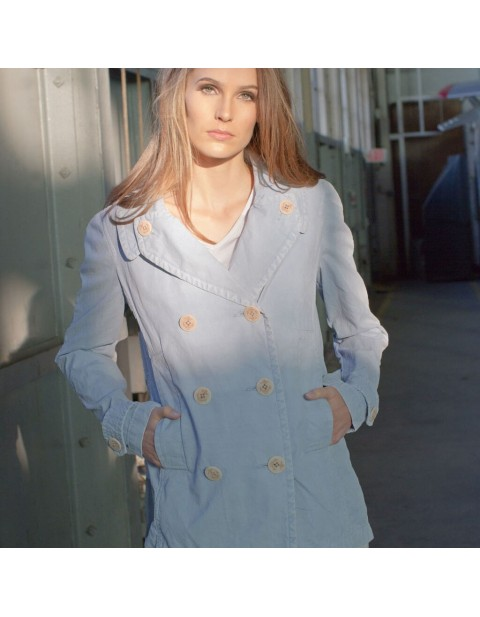 Куртка Пилот Sun Washed Cotton Peacoat