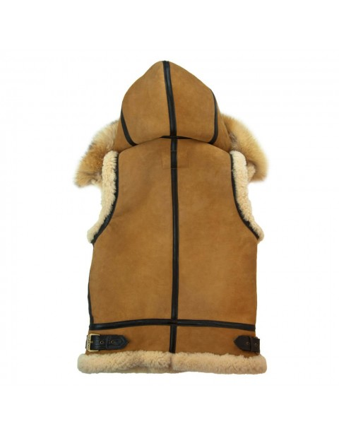 Куртка Пилот Women's Hooded B-3 Suede Vest